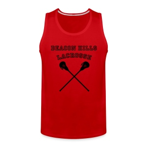 MCCALL Beacon Hills Lacrosse - Men's Hoodie - Men's Premium Tank