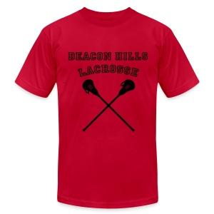 BOYD Beacon Hills Lacrosse - Crew-neck - Men's Fine Jersey T-Shirt