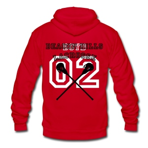 BOYD Beacon Hills Lacrosse - Crew-neck - Unisex Fleece Zip Hoodie by American Apparel