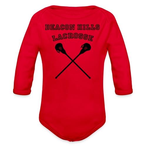 LAHEY Beacon Hills Lacrosse - Men's Hoodie - Organic Long Sleeve Baby Bodysuit