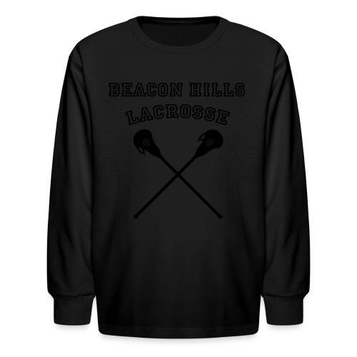LAHEY Beacon Hills Lacrosse - Men's Hoodie - Kids' Long Sleeve T-Shirt