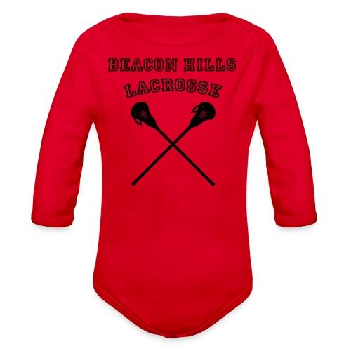 HALE Beacon Hills Lacrosse - Men's Hoodie - Organic Long Sleeve Baby Bodysuit