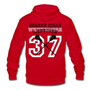 WHITTEMORE Beacon Hills Lacrosse - Women's Hoodie - Unisex Fleece Zip Hoodie by American Apparel