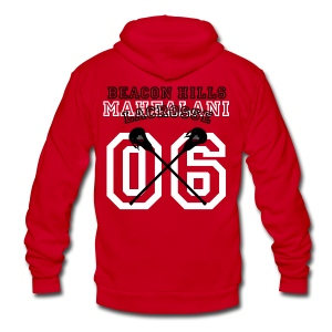 MAHEALANI Beacon Hills Lacrosse - Women's Hoodie - Unisex Fleece Zip Hoodie by American Apparel