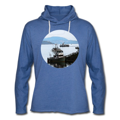 From the dock tshirt - Unisex Lightweight Terry Hoodie