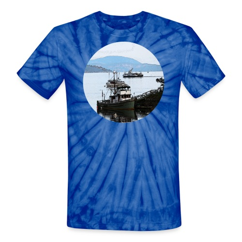 From the dock tshirt - Unisex Tie Dye T-Shirt