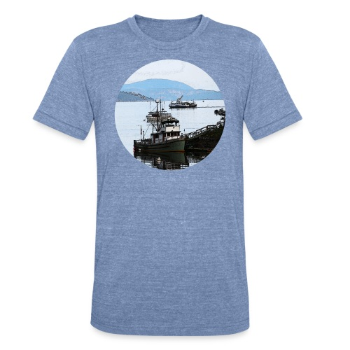 From the dock tshirt - Unisex Tri-Blend T-Shirt