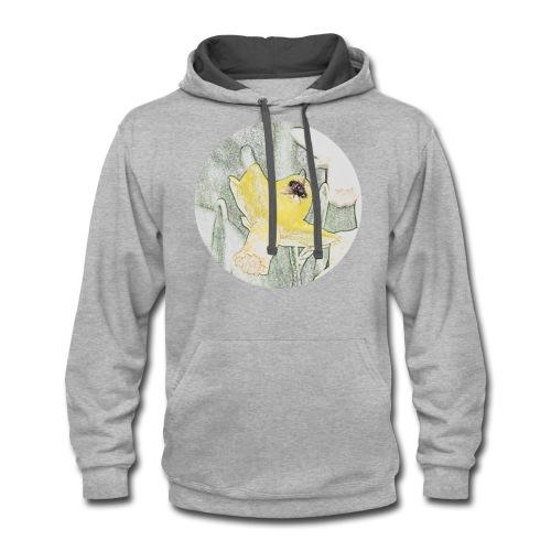 Bee tshirt - Contrast Hoodie