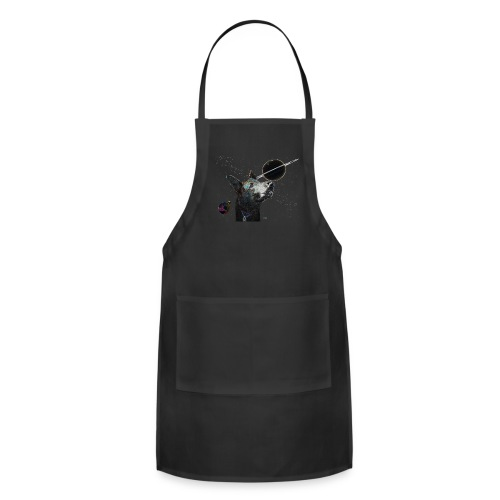Space Dog tshirt - Adjustable Apron