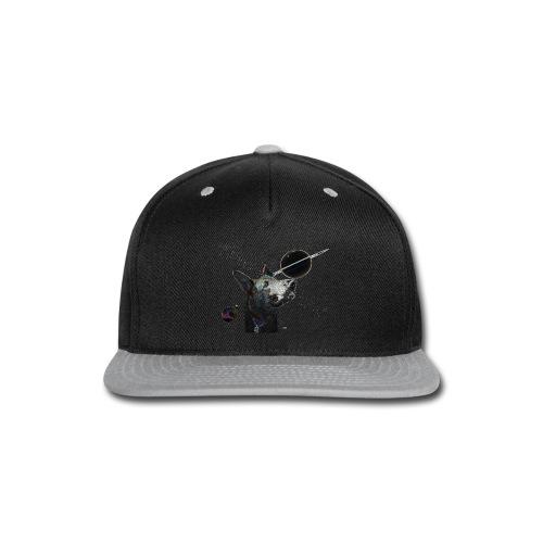 Space Dog tshirt - Snap-back Baseball Cap