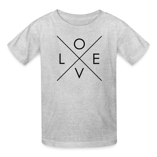 L | O | V | E Comfy Tee for Kids - Kids' T-Shirt