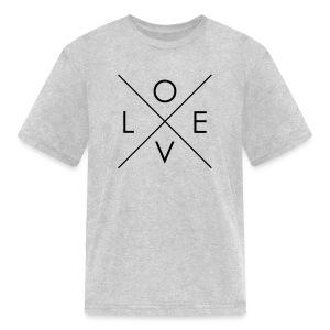 L   O   V   E Comfy Tee for Kids - Kids' T-Shirt