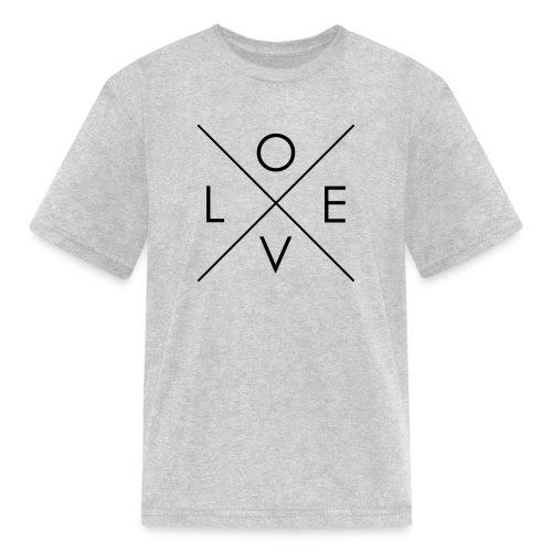 L | O | V | E Comfy Tee for Kids - Kids' T-Shirt