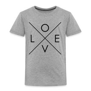 L   O   V   E Comfy Tee for Kids - Toddler Premium T-Shirt