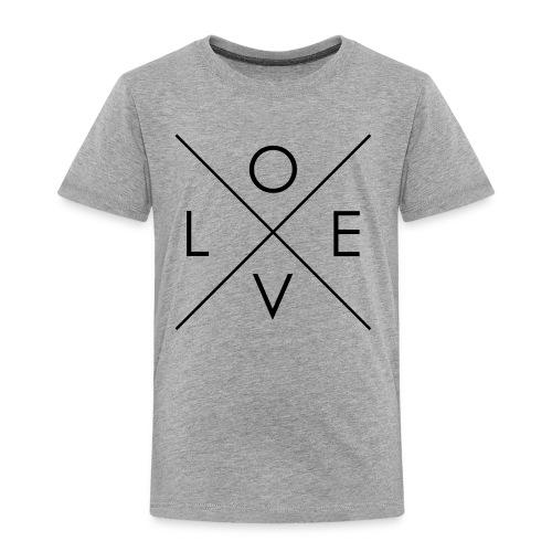 L | O | V | E Comfy Tee for Kids - Toddler Premium T-Shirt