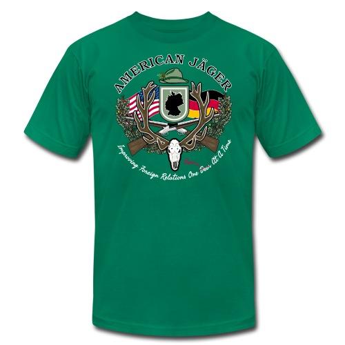 American Jäger Men's Hoodie - Men's Fine Jersey T-Shirt