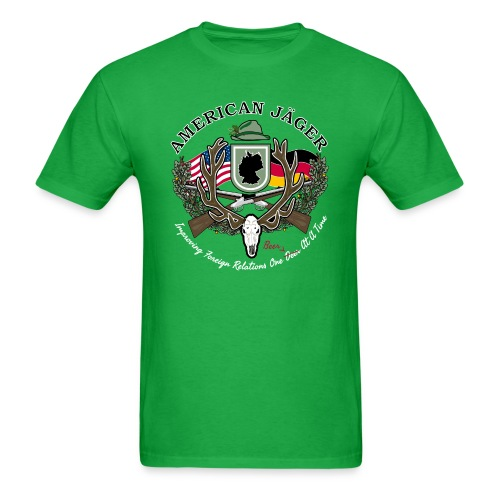 American Jäger Men's Hoodie - Men's T-Shirt