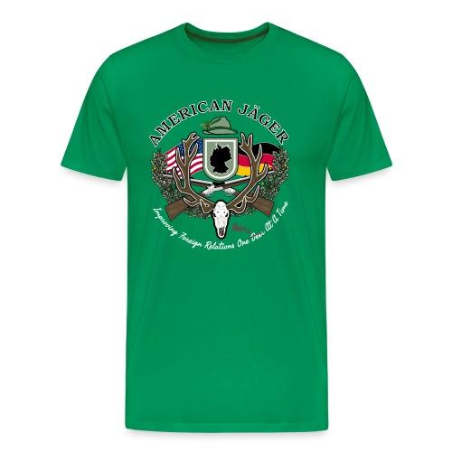 American Jäger Men's Hoodie - Men's Premium T-Shirt
