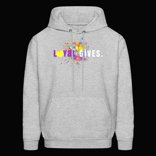 L0YaL GiVES. - Men's Hoodie