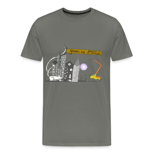 Groovus Disco Tee - Men's Premium T-Shirt