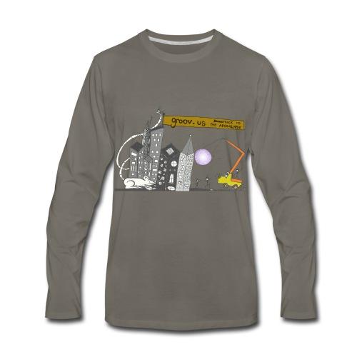 Groovus Disco Tee - Men's Premium Long Sleeve T-Shirt