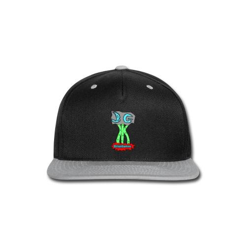 BrianGames - Male - Snap-back Baseball Cap
