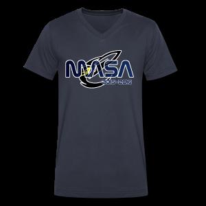 2015-2016 Shirt (Mens) - Men's V-Neck T-Shirt by Canvas