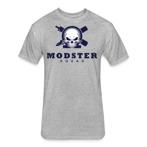 Modster Tee - Fitted Cotton/Poly T-Shirt by Next Level