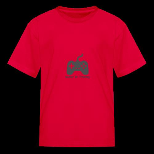 gamer in training - Kids' T-Shirt