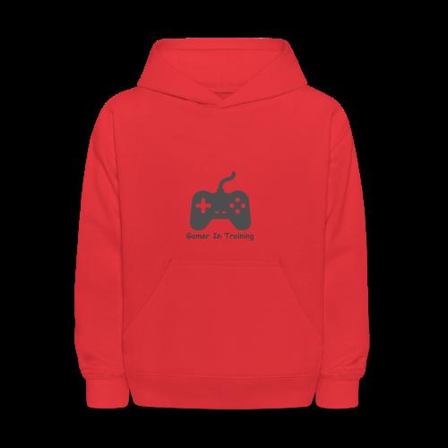 gamer in training - Kids' Hoodie