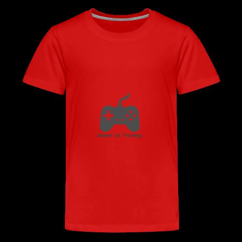 gamer in training - Kids' Premium T-Shirt
