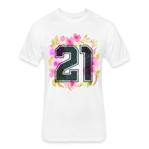 finally 21 - Fitted Cotton/Poly T-Shirt by Next Level