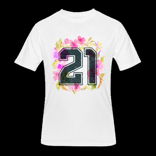 finally 21 - Men's 50/50 T-Shirt