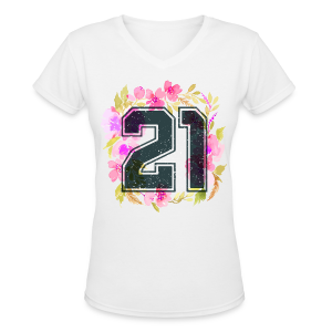 finally 21 - Women's V-Neck T-Shirt