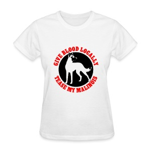 Belgian Malinois Guard Dog Long Sleeve T-Shirt - Women's T-Shirt