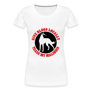 Belgian Malinois Guard Dog Long Sleeve T-Shirt - Women's Premium T-Shirt