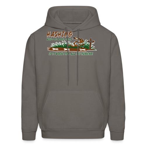 Hash running - Men's Hoodie