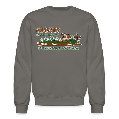 Hash running - Crewneck Sweatshirt