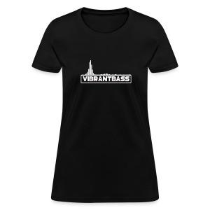 Women's Vibrant Hoodie (Black) - Women's T-Shirt