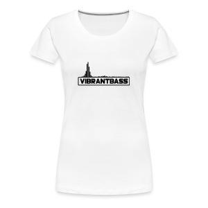 Women's Vibrant Hoodie (White) - Women's Premium T-Shirt