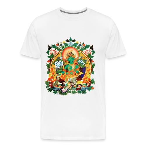 Green Tara Men's Ringer T-Shirt - Men's Premium T-Shirt
