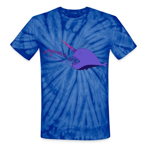 Narwhal Tee - Unisex Tie Dye T-Shirt