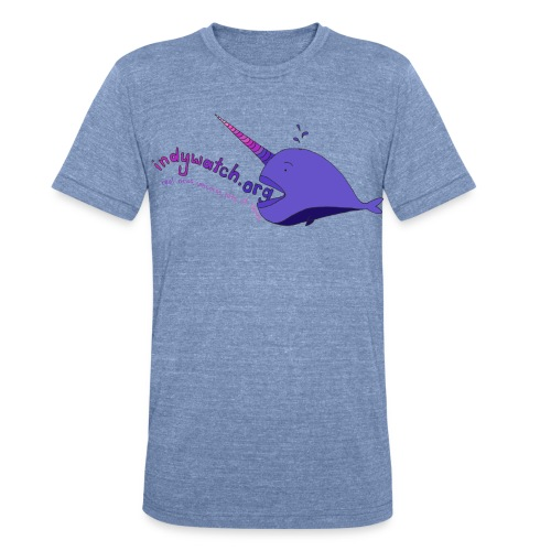 Narwhal Tee - Unisex Tri-Blend T-Shirt