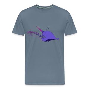 Narwhal Tee - Men's Premium T-Shirt