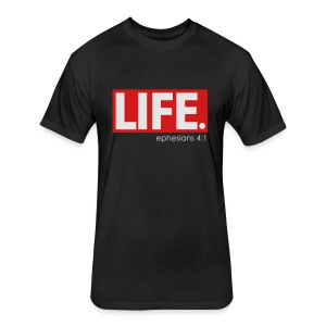LIFE TEE  - Fitted Cotton/Poly T-Shirt by Next Level