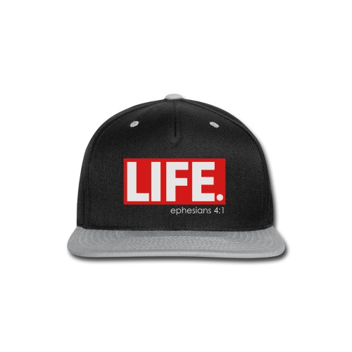 LIFE TEE  - Snap-back Baseball Cap