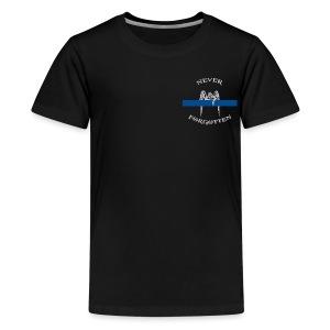 Thin Blue Line Angel - Kids' Premium T-Shirt