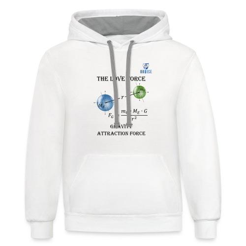 Newton Gravity MuMeG - Maternity T-Shirt - Contrast Hoodie