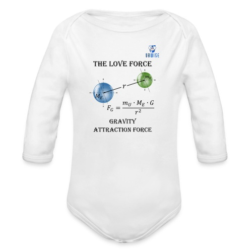 Newton Gravity MuMeG - Maternity T-Shirt - Organic Long Sleeve Baby Bodysuit