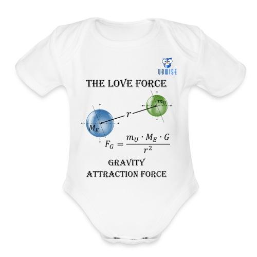Newton Gravity MuMeG - Maternity T-Shirt - Organic Short Sleeve Baby Bodysuit